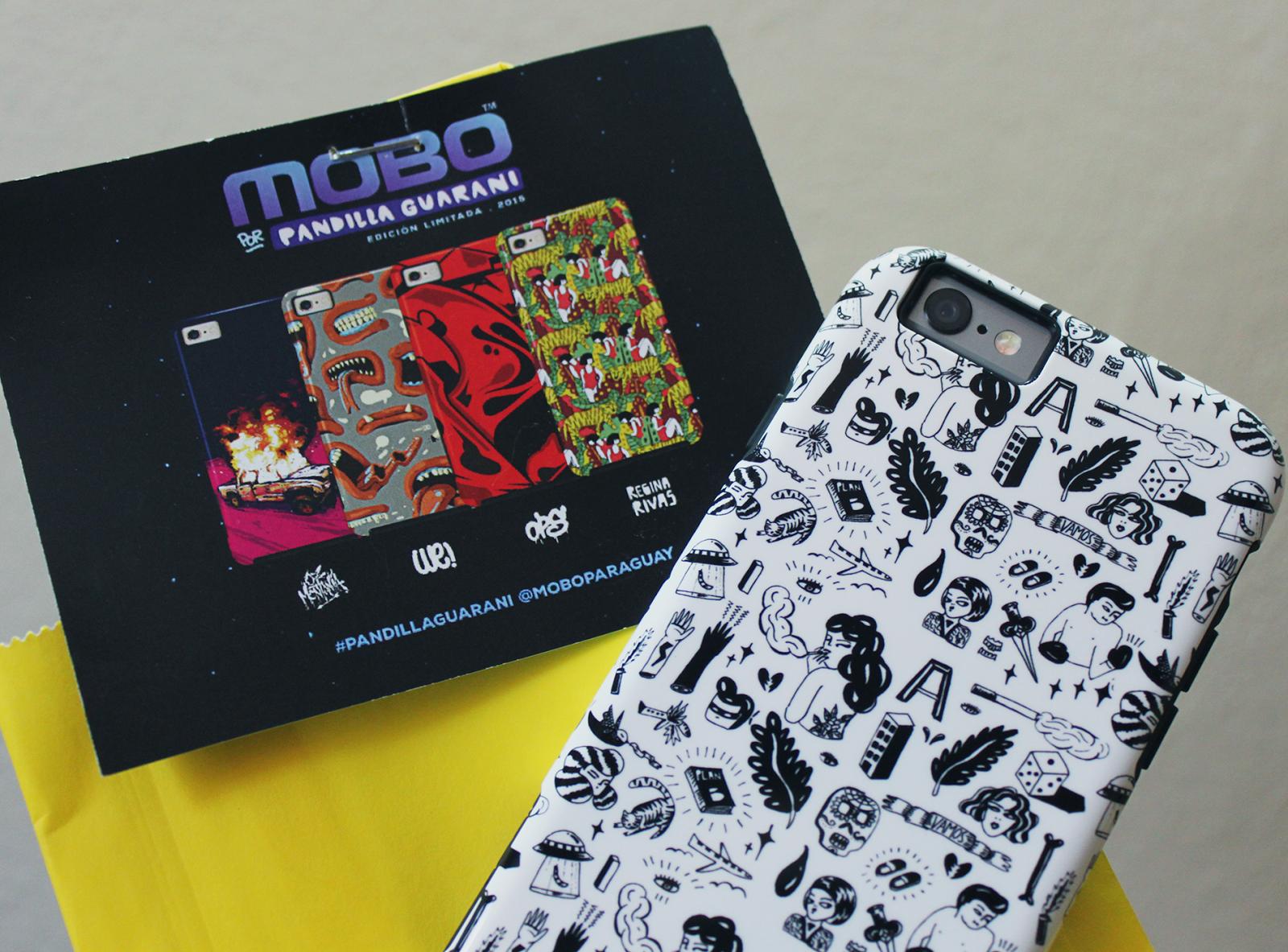 Mobo x Pandilla Guaraní: las ArtCases diseñadas por Regi Rivas, Oz Montania, Lucas We y Ricardo Tedeschi