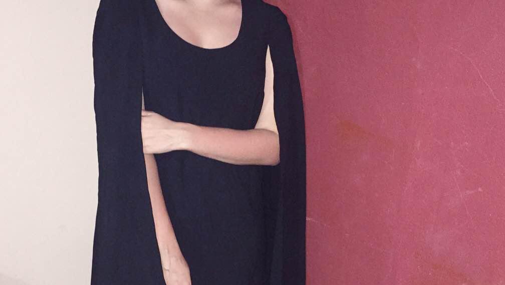#LookdeAdri: Vestido con capa