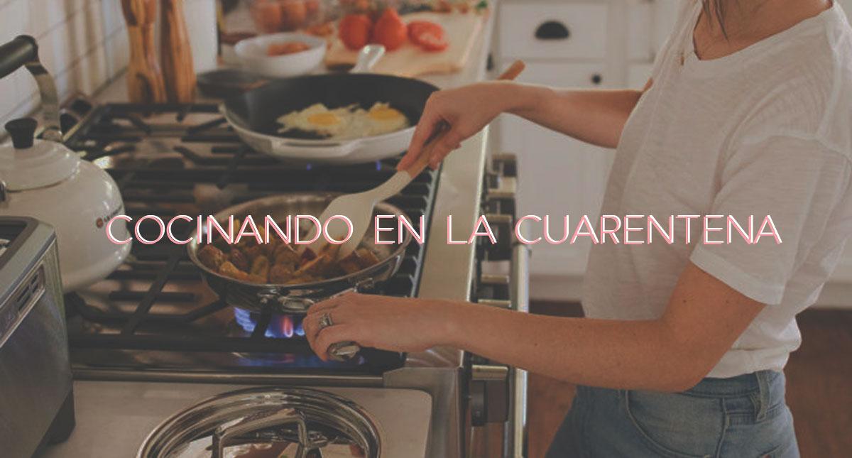 Cocina en tiempos de cuarentena: dónde aprender nuevas recetas?